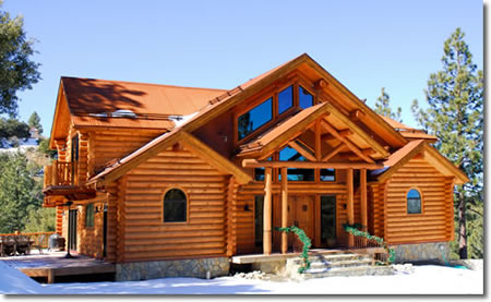 Grand Arbor Log Homes Bagley Mn
